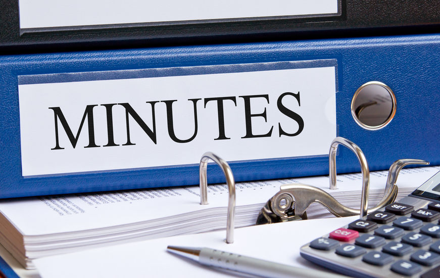 SHCC Meeting Minutes
